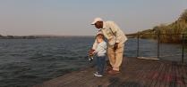Junior Fishing at Royal Chundu