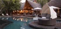 Enjoy the plunge pool at Royal Chundu
