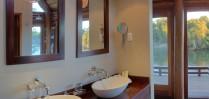 The bathrooms at Royal Chundu