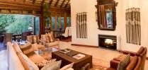 Sophisticated furnishings at Royal Chundu