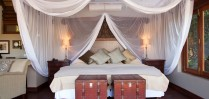 All bedrooms at Royal Chundu are beautifully furnished and equipped with mosquito nets