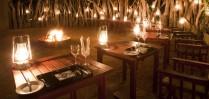 Enjoy a magical candle-lit dinner at Royal Chundu