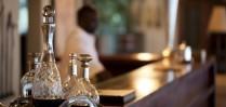 Enjoy a drink at the bar at Royal Chundu