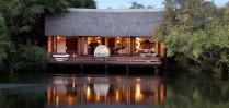 Stay at the gorgeous Island Lodge at Royal Chundu