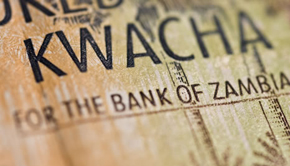 The Zambian currency is the Kwacha
